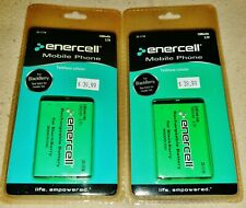 2 New Enercell BlackBerry 9000 / 9700 Rechargeable Batteries