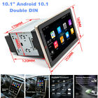 """10.1"""" Double DIN Car Stereo Radio Android 10.1 GPS Navigation MP5 Player WiFi"""