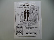 advertising Pubblicità 1951 PESCHE ARRIGONI - TRIESTE