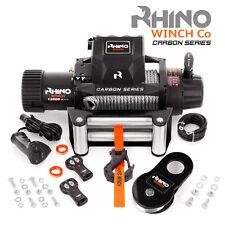 Treuil électriques 12v Récupération 4x4 voiture, Câble 13500 lb / 6123 kg RHINO