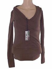 terranova donna maglia tshirt marrone taglia s small