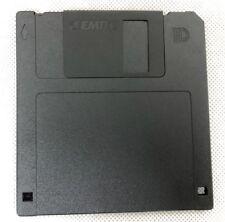 """Disco de disco flexible 2HD 1.44MB 3.5"""" F 2HD Negro alta seguridad disco formateado X 1"""