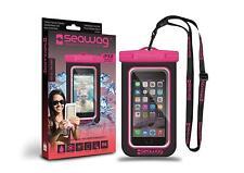 Seawag b3x Waterproof Case for Smartphone–Black/Pink