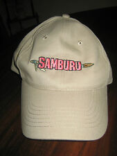 Samburu Survivor: Africa TV Series 2001 Ball Cap in Khaki Tan One Size New