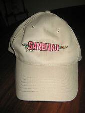 Samburu Survivor: Africa TV Series 2001 Ball Cap in Khaki Tan One Size New