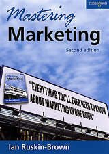 Mastering Marketing,Ian Ruskin-Brown,New Book mon0000012935