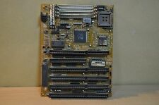 80386 8517 V3.4 Motherboard with CPU AMD Am386SX-40, 6xISA Slots, ALI M1217-40 !