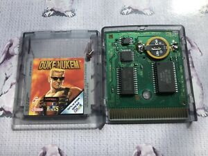 DUKE NUKEM NINTENDO GAMEBOY COLOR COLOUR GAME GBC GBA *NEW SAVE BATTERY* TESTED