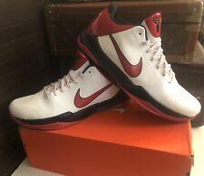 Nike Zoom Kobe 5 V Black Valentines White Varsity Red Black 386429-161 Size 10.5