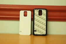 100 Blank Samsung Galaxy S5 Black Plastic Phone Cases Dye Sublimation Wholesale