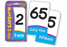 Childrens Numbers 0-100 Educational Numeracy Flash Cards