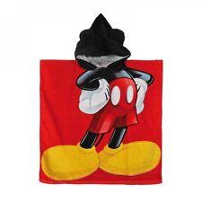 Strand Bade Poncho Kapuzenhandtuch Strandhandtuch Badetuch Disney Mickey Mouse
