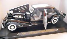 Cadillac v16 de la masa Coupe (1934) negro Nero Noir Black, Ricko 1:18 Boxed!