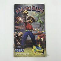 Amazing Island (Nintendo GameCube, 2004) Instruction Booklet Only