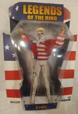 Sting Action TNA WCW Legends Of The Ring Action Figure New!