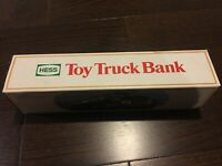 Hess Toy Truck Bank 1984 Hess Fuel Oils NEW Vintage