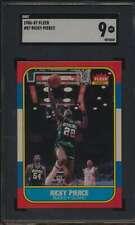 1986 Fleer #87 Ricky Pierce RC SGC 9  MINT 53291