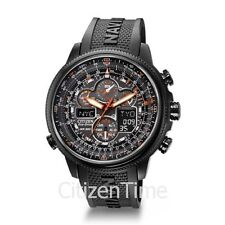 -NEW-Citizen Navihawk Atomic Timkeeping Eco-Drive Watch JY8035-04E