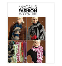 Sew & Make McCall's M5200 SEWING PATTERN - Womens DESIGNER FASHION SCARVES Uncut