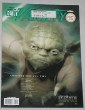 Daily Variety Gotham January 6, 2006 Yoda Star Wars Revenge of The Sith III VGC+