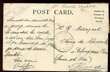 Islas del Canal Jersey 1913 PPC ½ D Par buena St John's Iglesia PMK en la parte delantera