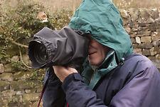 Housse de pluie avec couverture de fin s' adapte Canon 24-105 F4 L 17-55 F2.8 montage élastique