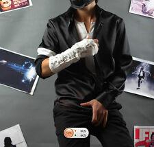 Michael Jackson Black Or White Shirt MJ Armband Black Color