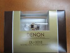 Denon DL 301 Moving Coil MC cartridge DL301II