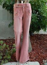MARC JACOBS Jeans Pink Tuxedo Stripped Trouser Jean Pants Slacks Sz-6