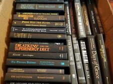 BLACK BOOKS SET STACK COLOR LOT OF 15 DECORATIVE DECOR BOOK HARDCOVER CLEAN