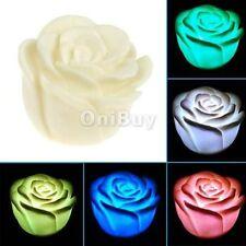 ******** LED Lampe Rose Veilleuse Couleur Changer Lumière D'ambiance*****
