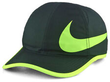 NIKE Featherlight Swoosh Golf Sports Cap Green Adjustable NWT