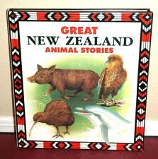 Great New Zealand Animal Stories 1989 Tall Hardback Book Great Animal Stoires