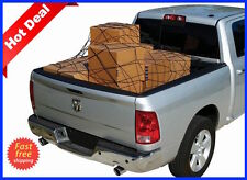 Truck Cargo Net Bed Cover GMC Sierra 1500 2500 3500 tie down hooks strap HD 4x4