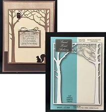 Memory Box cutting dies Grand Forest Archway metal Die 99153 Trees,leaves,frame