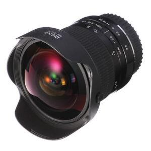 Meike 8mm F3.5 Wide Angle Fisheye Lens For Olympus/Panasonic M4/3 Mount Camera