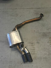 FORD FG MK2 GT RSPEC QUAD MATTE BLACK TIPS FALCON PASSENGER TAIL PIPE  EXHAUST