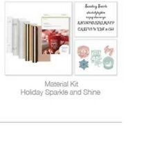 Cricut Holiday Sparkle and Shine Materials Kit NIB Was available as Autoship hsn