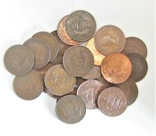 More details for 10 british half-pennies  bulk buy from 1937-67 choose your amount free uk post