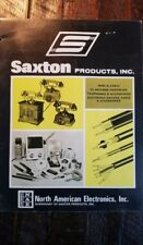 1975 Saxton Products North American Electronics, Inc. Catalog Vintage Telephones