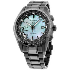 Seiko Astron GPS Solar World Time Ceramic & Titanium LIMITED Men's Watch SSE091