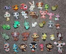 Littlest Pet Shop Animals Huge Lot of 35 LPS Toys Dog Monkey Bird Lizard Pig Cow