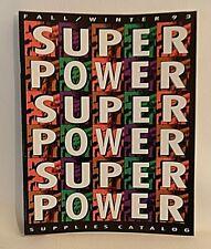 **RETRO** Nintendo Power SUPER POWER SUPPLIES CATALOG - FALL/WINTER 1993