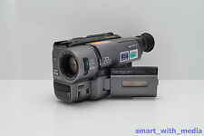 SONY HANDYCAM CCD-TRV35E CAMCORDER HI-8 VIDEO-8 XR VIDEO ANALOGUE 8MM