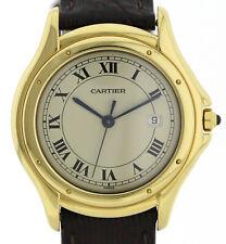 Cartier Panthere Cougar 750/18k Gelbgold Quarz Ref. 887920 Luxusuhr Ø33,5mm