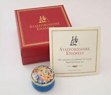 Staffordshire Enamel Box - Fireworks 2000