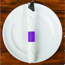 MH Paper 6 x 1.5 Purple Napkin Bands (4000) Self Adhesive Ships Free($0.008/pc)