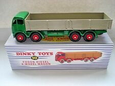 Atlas Dinky Supertoys No.901 Green Foden 8 wheeled Wagon Mint / Boxed