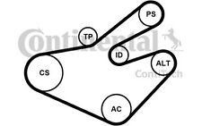 CONTITECH Juego de correas trapeciales poli V para RENAULT OPEL NISSAN 7PK1795K1