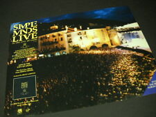 SIMPLE MINDS are in The City Of Light 1987 PROMO DISPLAY AD mint condition
